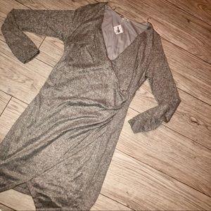 NWT Asymmetrical sweater dress